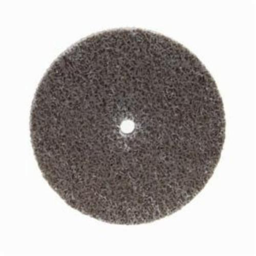 Norton® Bear-Tex® NEX™ Rapid Blend™ 66261014928 Non-Woven Unified Wheel, 3 in Dia, 1/4 in Center Hole, 1/2 in W Face, Medium Grade, Aluminum Oxide Abrasive