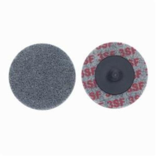 Norton® Bear-Tex® Rapid Blend™ 66261016005 Quick-Change Non-Woven Unified Wheel, 3 in Dia, 1/4 in W Face, Fine Grade, Silicon Carbide Abrasive
