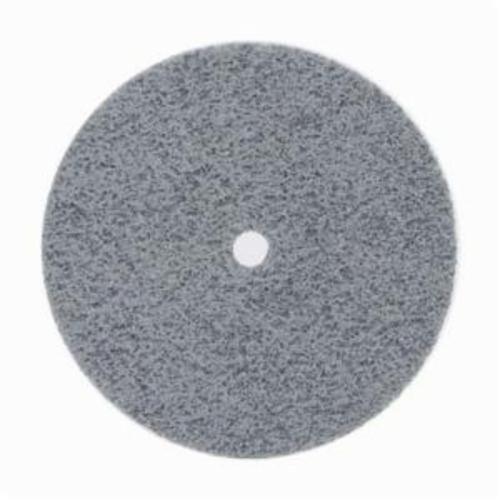 Norton® Bear-Tex® NEX™ Rapid Blend™ 66261016006 Non-Woven Unified Wheel, 3 in Dia, 3/8 in Center Hole, 1/4 in W Face, Fine Grade, Silicon Carbide Abrasive