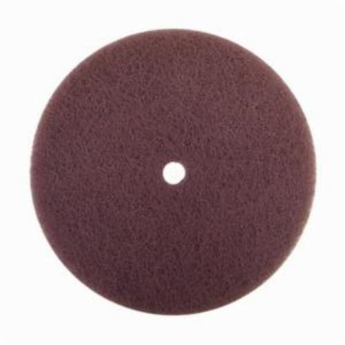 Norton® Rapid Prep™ 66261017124 Standard Back Up Pad Non-Woven Abrasive Disc, 5 in Dia, Medium Grade, Aluminum Oxide Abrasive, Nylon Fiber Backing