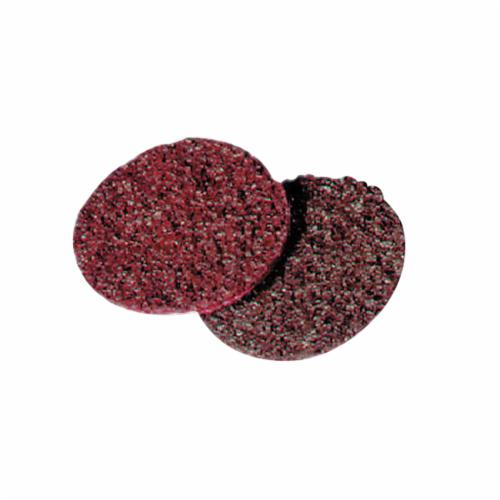 Norton® Bear-Tex® Rapid Prep™ 66261017813 Non-Woven Abrasive Hook and Loop Disc, 7 in Dia, 120 Grit, Medium Grade, Aluminum Oxide Abrasive, Nylon Backing