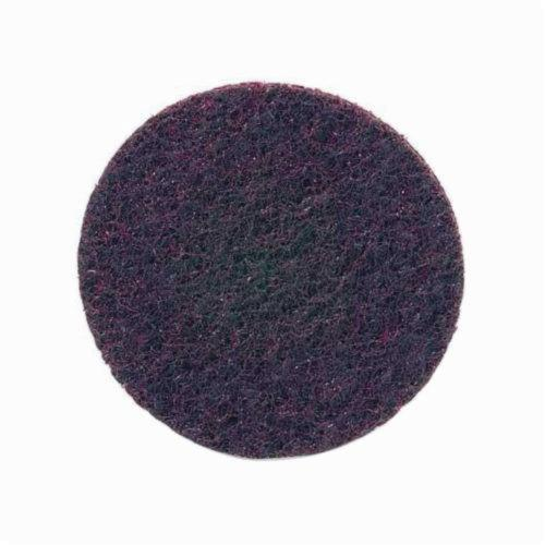 Norton® Bear-Tex® Rapid Prep™ 66261017815 Non-Woven Abrasive Hook and Loop Disc, 8 in Dia, 80 Grit, Medium Grade, Aluminum Oxide Abrasive, Nylon Backing
