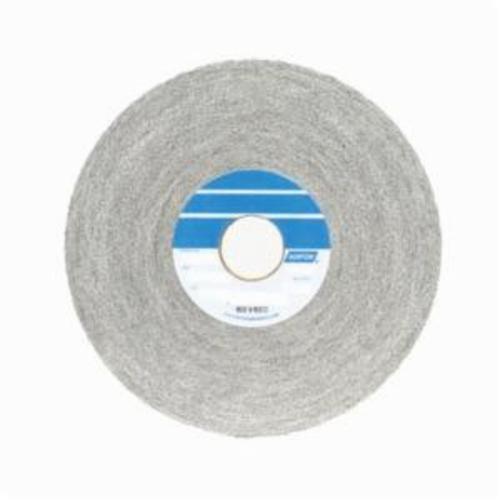 Norton® Bear-Tex® 66261018636 1000 Convolute Non-Woven Abrasive Wheel, 6 in Dia, 1 in Center Hole, 1 in W Face, Medium Grade, Aluminum Oxide Abrasive