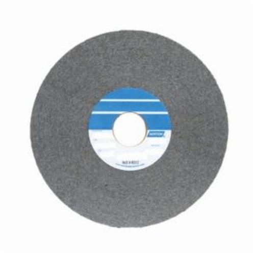 Norton® Bear-Tex® 66261018673 1000 Convolute Non-Woven Abrasive Wheel, 8 in Dia, 3 in Center Hole, 1 in W Face, Medium Grade, Silicon Carbide Abrasive