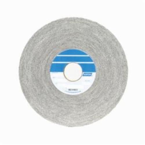 Norton® Bear-Tex® 66261018857 1000 Convolute Non-Woven Abrasive Wheel, 6 in Dia, 1 in Center Hole, 1/2 in W Face, Medium Grade, Aluminum Oxide Abrasive