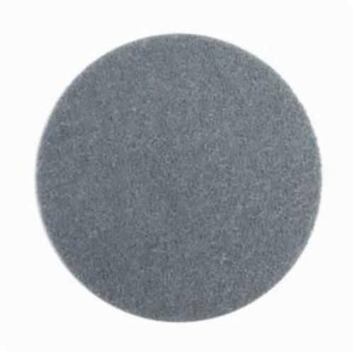 Norton® Bear-Tex® Rapid Prep™ 66261019962 Surface Conditioning Non-Woven Abrasive Hook and Loop Disc, 5 in Dia, 220 Grit, Super Fine Grade, Silicon Carbide Abrasive, Nylon Fiber/Nylon Scrim Backing