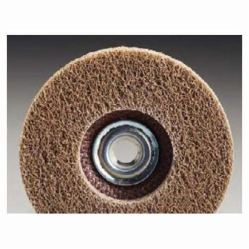 Norton® Rapid Blend™ 66261020548 Depressed Center Wheel, 4-1/2 in Dia x 1/2 in THK, 7/8 in Center Hole, 150/180 Grit, Aluminum Oxide Abrasive