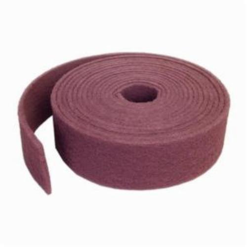 Norton® Bear-Tex® 66261051701 747 General Purpose Non-Woven Abrasive Roll, 4 in W x 30 ft L, 240 to 360 Grit, Very Fine Grade, Aluminum Oxide Abrasive