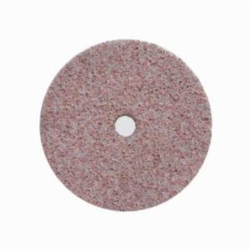 Norton® Bear-Tex® Rapid Blend™ 66261052275 Non-Woven Unified Wheel, 2 in Dia, 1/4 in Center Hole, 1/4 in W Face, Coarse Grade, Aluminum Oxide Abrasive