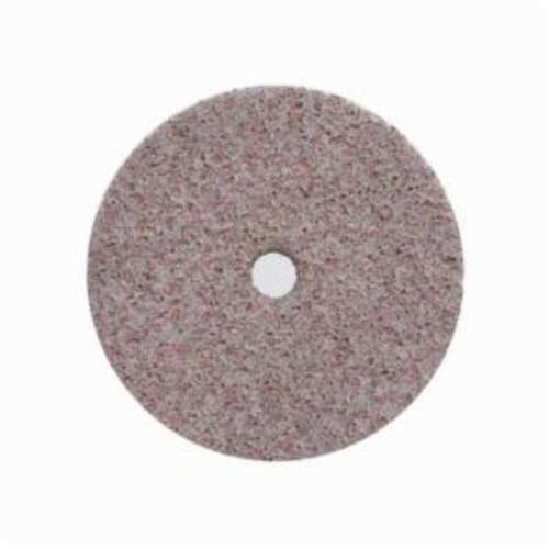 Norton® Bear-Tex® Rapid Blend™ 66261052276 Non-Woven Unified Wheel, 3 in Dia, 1/4 in Center Hole, 1/4 in W Face, Coarse Grade, Aluminum Oxide Abrasive