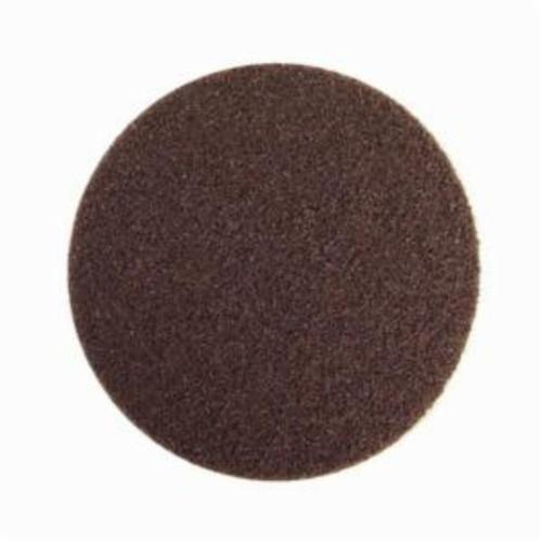 Norton® Bear-Tex® Rapid Prep™ 66261055018 Non-Woven Abrasive Hook and Loop Disc, 4 in Dia, 80 Grit, Coarse Grade, Aluminum Oxide Abrasive, Nylon Backing
