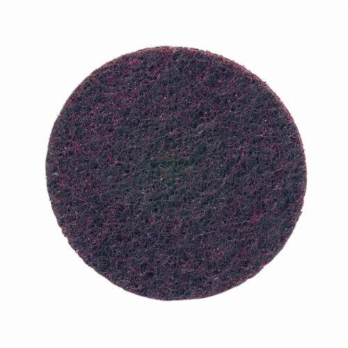 Norton® Bear-Tex® Rapid Prep™ 66261055019 Non-Woven Abrasive Hook and Loop Disc, 4 in Dia, 80 Grit, Medium Grade, Aluminum Oxide Abrasive, Nylon Backing