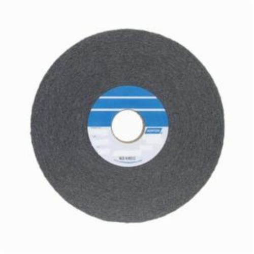 Norton® Bear-Tex® 66261055208 1000 Convolute Non-Woven Abrasive Wheel, 8 in Dia, 3 in Center Hole, 1 in W Face, Medium Grade, Silicon Carbide Abrasive