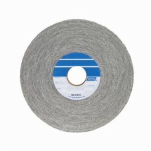 Norton® Bear-Tex® 66261055235 1000 Convolute Non-Woven Abrasive Wheel, 8 in Dia, 3 in Center Hole, 2 in W Face, Medium Grade, Aluminum Oxide Abrasive