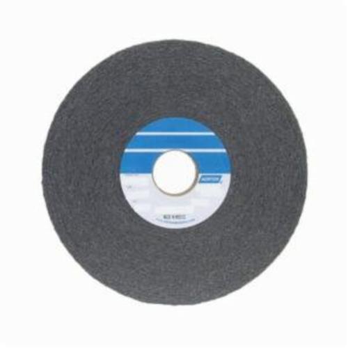 Norton® Bear-Tex® 66261055258 1000 Convolute Non-Woven Abrasive Wheel, 8 in Dia, 3 in Center Hole, 2 in W Face, Fine Grade, Silicon Carbide Abrasive