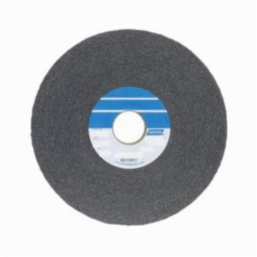Norton® Bear-Tex® 66261018774 1000 Convolute Non-Woven Abrasive Wheel, 6 in Dia, 1 in Center Hole, 1 in W Face, Fine Grade, Silicon Carbide Abrasive