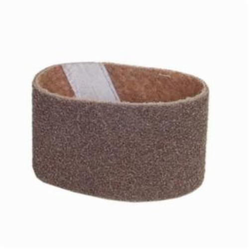 Norton® Bear-Tex® Rapid Prep™ 66261055324 Low Flex Highest Density Portable Stiffest Surface Conditioning Non-Woven Abrasive Belt, 3-1/2 in W x 15-1/2 in L, Coarse Grade, Aluminum Oxide Abrasive, Brown