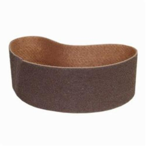Norton® Bear-Tex® Rapid Prep™ 66261055330 Benchstand Flex Low Stretch Narrow Regular Surface Conditioning Non-Woven Abrasive Belt, 6 in W x 48 in L, Coarse Grade, Aluminum Oxide Abrasive, Brown