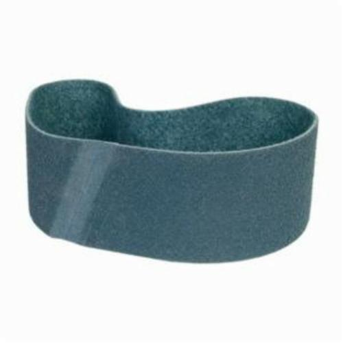 Norton® Bear-Tex® Rapid Prep™ 66261055332 Benchstand Flex Low Stretch Narrow Regular Surface Conditioning Non-Woven Abrasive Belt, 6 in W x 48 in L, Very Fine Grade, Aluminum Oxide Abrasive, Blue