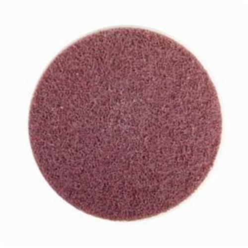 Norton® Rapid Prep™ 66261055350 Non-Woven Abrasive Quick-Change Disc, 4 in Dia, 80 Grit, Medium Grade, Aluminum Oxide Abrasive, Type TS (Type II) Attachment