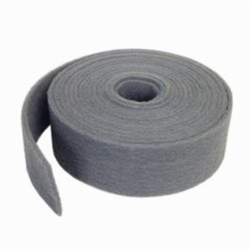 Norton® Bear-Tex® 66261058360 851 General Purpose Non-Woven Abrasive Roll, 4 in W x 30 ft L, Very Fine Grade, Silicon Carbide Abrasive