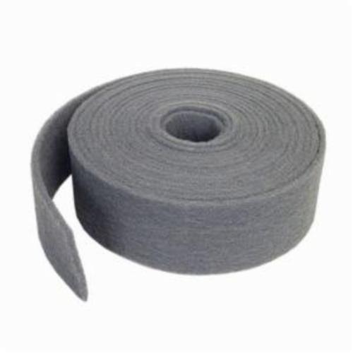 Norton® Bear-Tex® 66261058377 851 General Purpose Non-Woven Abrasive Roll, 6 in W x 30 ft L, Very Fine Grade, Silicon Carbide Abrasive