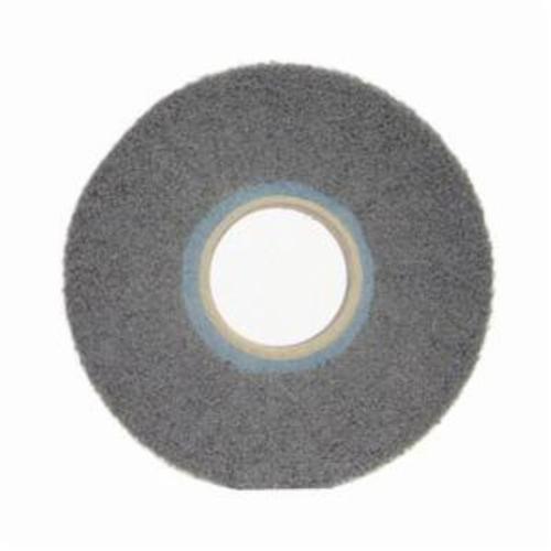 Norton® Bear-Tex® 66261058450 Non-Woven Flap Wheel, 6 in Dia, 1 in W Face, 120 Grit, Very Fine Grade, Silicon Carbide Abrasive
