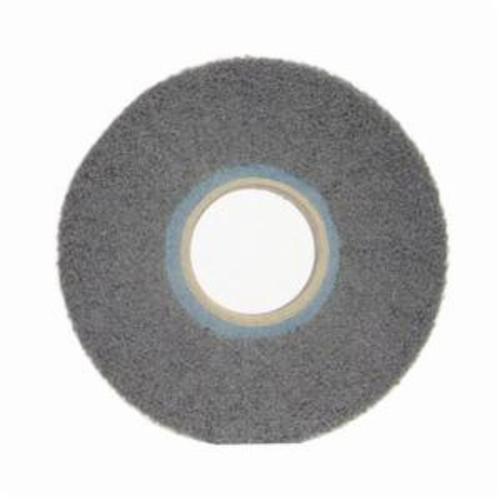 Norton® Bear-Tex® 66261058451 Non-Woven Flap Wheel, 6 in Dia, 1 in W Face, 180 Grit, Fine Grade, Silicon Carbide Abrasive