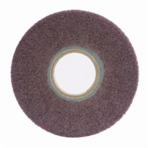 Norton® Bear-Tex® 66261058456 Non-Woven Flap Wheel, 6 in Dia, 1 in W Face, 120 Grit, Medium Grade, Aluminum Oxide Abrasive