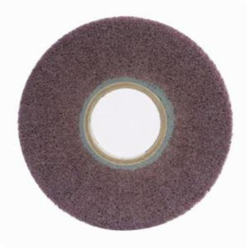Norton® Bear-Tex® 66261058456 Non-Woven Flap Wheel, 6 in Dia, 1 in W Face, 120 Grit, Medium Grade, Aluminum Oxide Abrasive