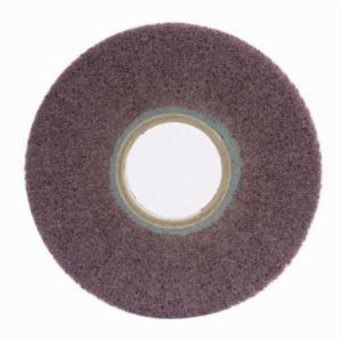 Norton® Bear-Tex® 66261058487 Non-Woven Flap Wheel, 6 in Dia, 1 in W Face, 180 Grit, Fine Grade, Aluminum Oxide Abrasive