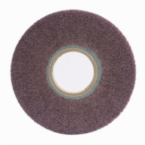 Norton® Bear-Tex® 66261058491 Non-Woven Flap Wheel, 8 in Dia, 1 in W Face, 180 Grit, Fine Grade, Aluminum Oxide Abrasive