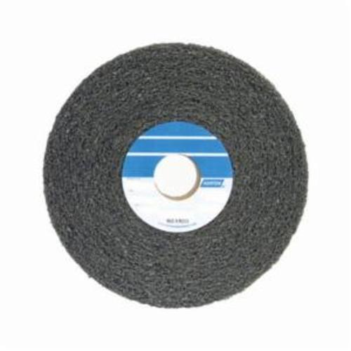 Norton® Bear-Tex® 66261058510 Convolute Non-Woven Abrasive Wheel, 6 in Dia x 2 in THK, 1 in Center Hole, Medium Grade