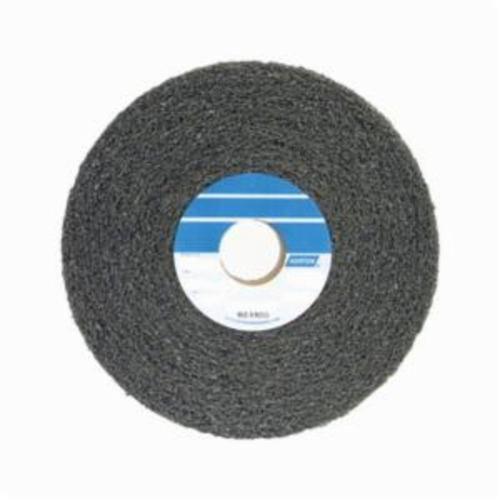 Norton® Bear-Tex® 66261058524 Convolute Non-Woven Abrasive Wheel, 8 in Dia x 3 in THK, 3 in Center Hole, Medium Grade