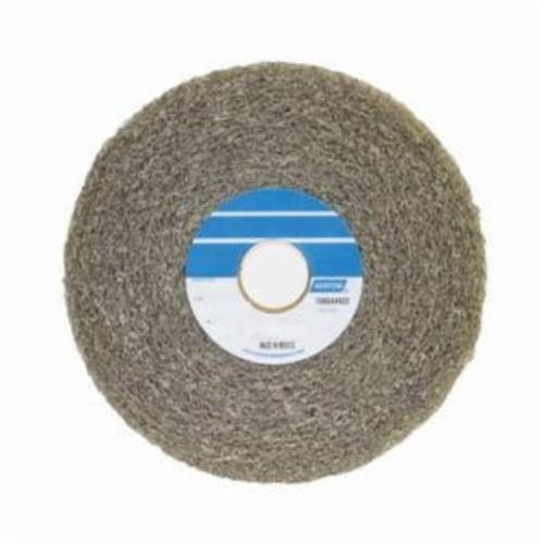 Norton® Bear-Tex® 66261058550 Convolute Non-Woven Abrasive Wheel, 6 in Dia, 1 in Center Hole, 1 in W Face, Medium Grade, Aluminum Oxide Abrasive