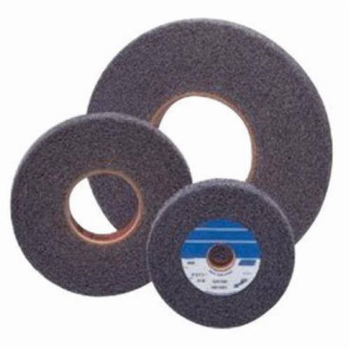 Norton® Bear-Tex® 66261058560 Convolute Surface Finishing Wheel, 6 in Dia, 1 in Center Hole, 2 in W Face, Medium Grade, Silicon Carbide Abrasive
