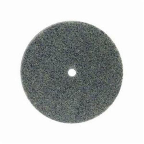 Norton® Bear-Tex® Rapid Blend™ 66261058771 Non-Woven Unified Wheel, 3 in Dia, 1/4 in Center Hole, 3/4 in W Face, Fine Grade, Silicon Carbide Abrasive