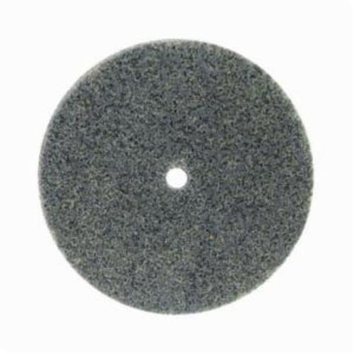 Norton® Bear-Tex® Rapid Blend™ 66261058773 Non-Woven Unified Wheel, 3 in Dia, 1/4 in Center Hole, 3/4 in W Face, Medium Grade, Silicon Carbide Abrasive