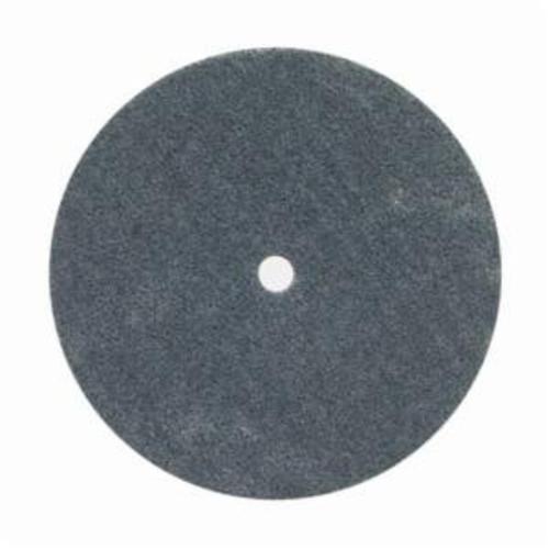 Norton® Bear-Tex® Rapid Blend™ 66261058779 Non-Woven Unified Wheel, 6 in Dia, 1/2 in Center Hole, 1/2 in W Face, Medium Grade, Silicon Carbide Abrasive