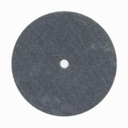 Norton® Bear-Tex® Rapid Blend™ 66261058792 Non-Woven Unified Wheel, 6 in Dia, 1/2 in Center Hole, 1 in W Face, Medium Grade, Silicon Carbide Abrasive