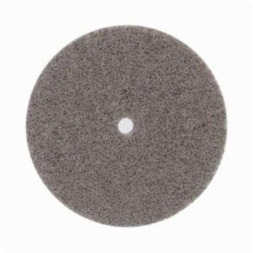 Norton® Bear-Tex® Rapid Blend™ 66261058816 Non-Woven Unified Wheel, 3 in Dia, 1/4 in Center Hole, 1/4 in W Face, Fine Grade, Aluminum Oxide Abrasive