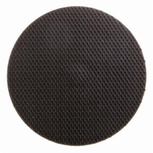 Norton® 66261059312 Hard Density Backup Pad, 6 in Dia Pad, Hook and Loop Attachment