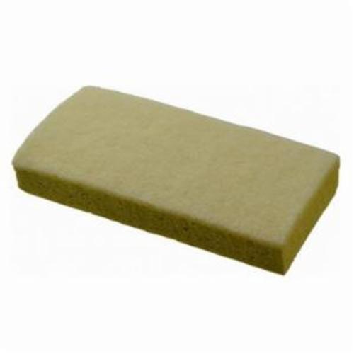 Norton® 66261059402 875 Clean-N-Sponge Light Duty Clean-N-Sponge Pad, 6-1/4 in L, 3-1/4 in W W/Dia, 3/4 in THK, Aluminum Oxide Abrasive