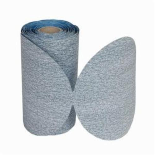 Norton® Durite®No-Fil® 66261065293 A475 PSA Coated Abrasive Disc Roll, 5 in Dia Disc, P400 Grit, Super Fine Grade, Silicon Carbide Abrasive, Paper Backing
