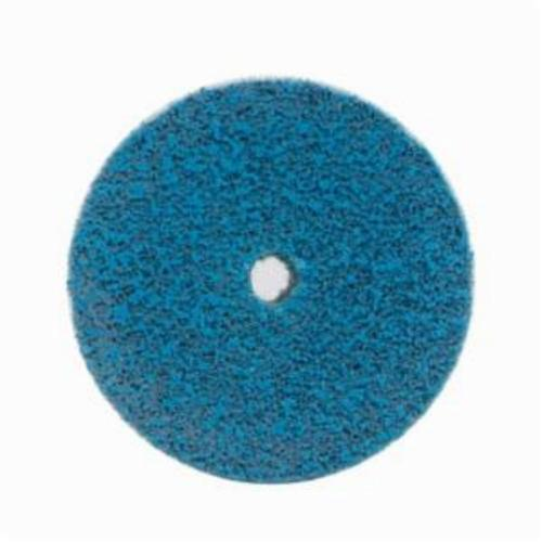 Norton® Bear-Tex® Rapid Blend™ Vortex® 66261080269 Non-Woven Unified Wheel, 2 in Dia, 1/4 in Center Hole, 1 in W Face, Medium Grade, Aluminum Oxide Abrasive