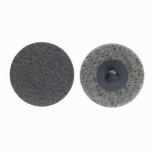 Norton® Rapid Prep™ 66261091460 Non-Woven Abrasive Quick-Change Disc, 3 in Dia, 220 Grit, Super Fine Grade, Silicon Carbide Abrasive, Type TR (Type III) Attachment