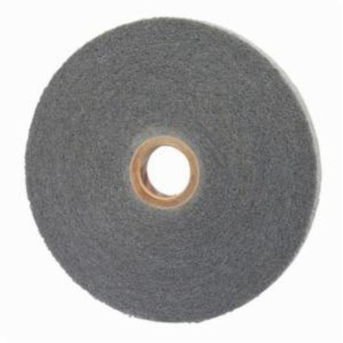 Norton® 66261092480 Convolute Non-Woven Abrasive Wheel, 12 in Dia, 5 in Center Hole, 1 in W Face, Super Fine Grade, Silicon Carbide Abrasive