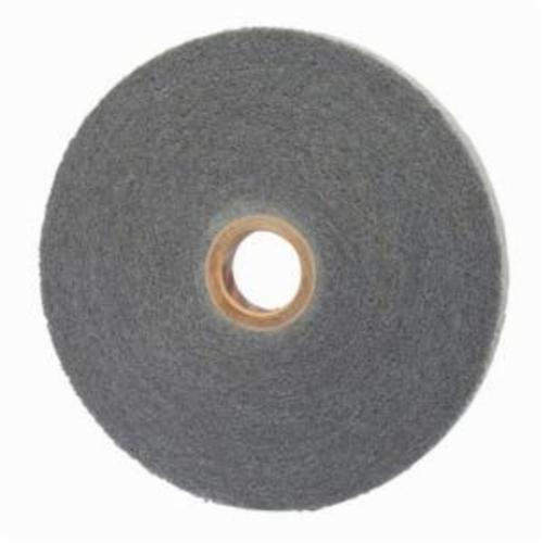 Norton® Bear-Tex® 66261095702 Convolute Non-Woven Abrasive Wheel, 8 in Dia, 3 in Center Hole, 1 in W Face, Fine Grade, Silicon Carbide Abrasive