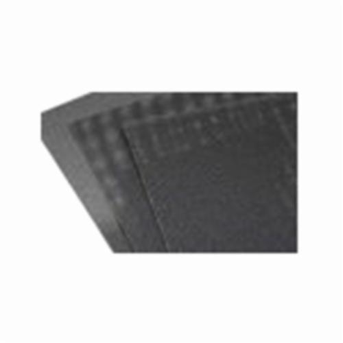 Norton® Durite® 66261100960 Q421 Coated Sanding Sheet, 11 in L x 9 in W, P80 Grit, Coarse Grade, Silicon Carbide Abrasive, Screen-Bak™ Backing