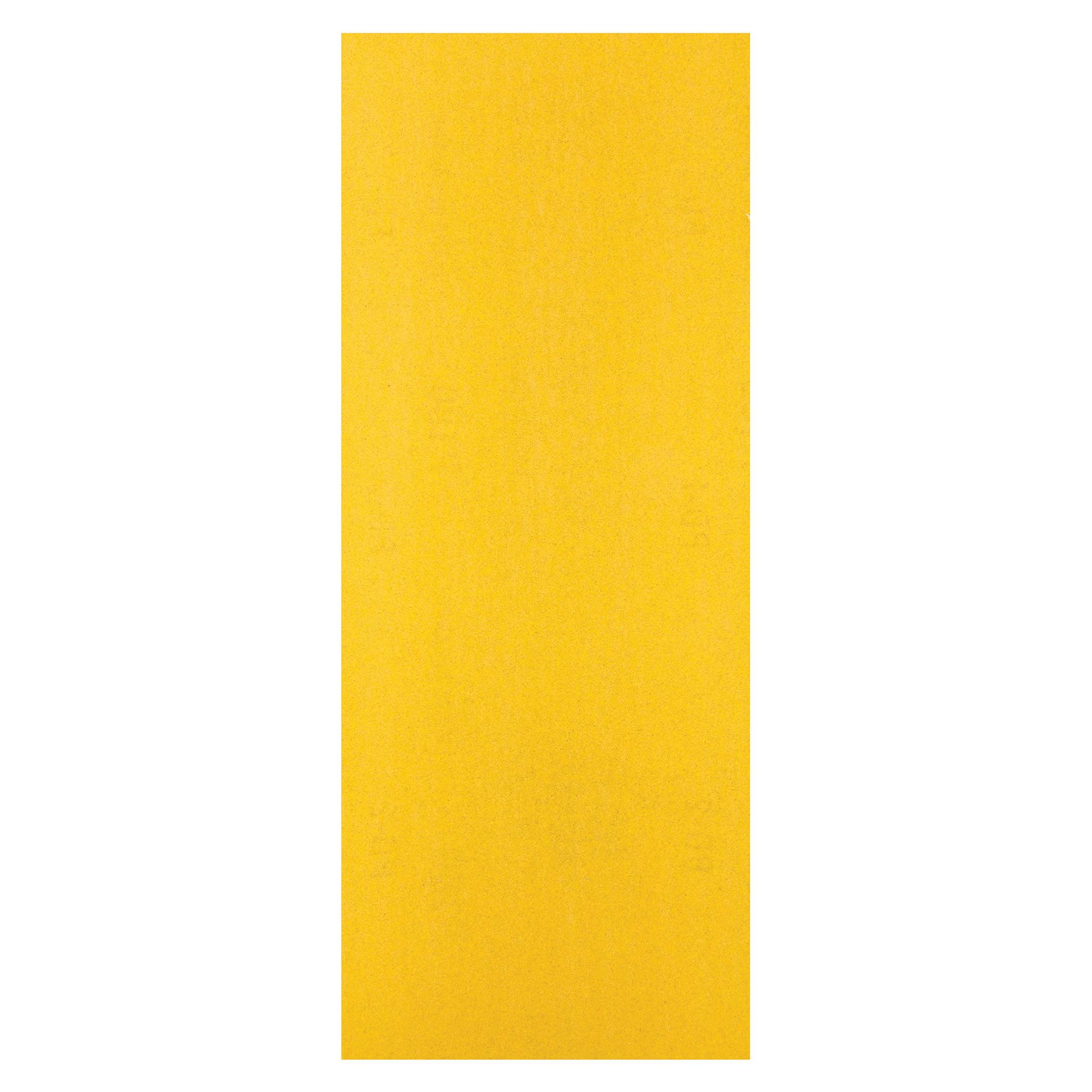 Norton® No-Fil® 66261101119 A290 Coated Sandpaper Cut Sheet, 9 in L x 3-2/3 in W, P80 Grit, Coarse Grade, Aluminum Oxide Abrasive, Anti-Loading Paper Backing